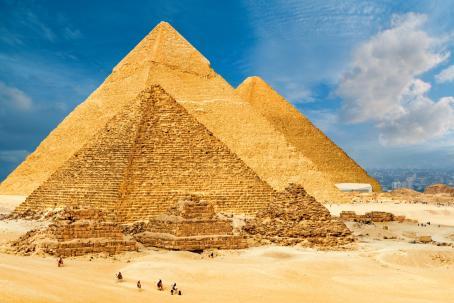 Pyramides Giza